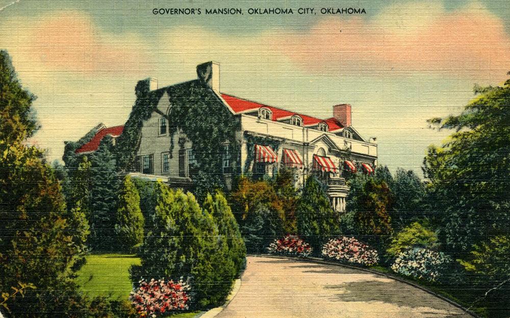 1948 Mansion Exterior