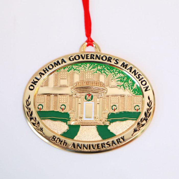 Oklahoma Holiday Ornament - 2008